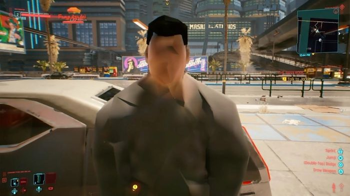 Cyberpunk 2077 Graphics Glitch