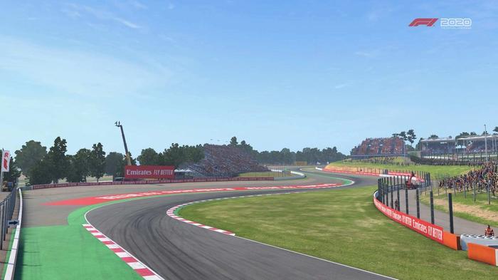 F1 2020 Spain turn 1 Y