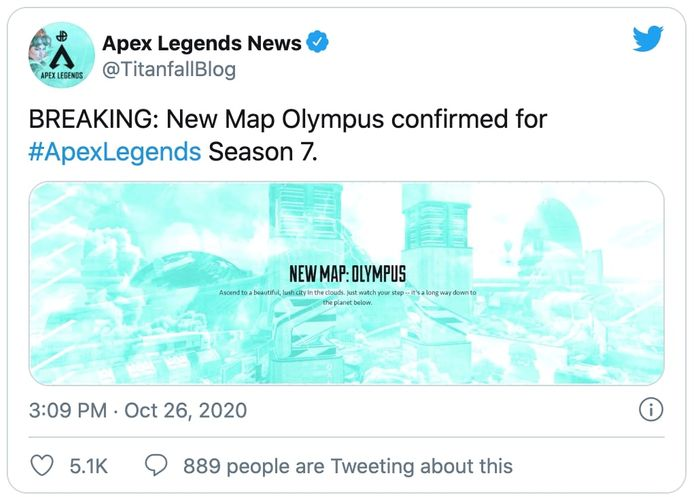 apex legends olympus season 7 reveal