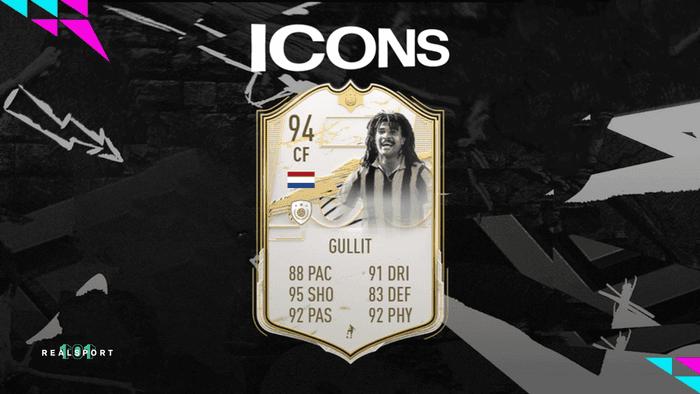 21 FIFA icon SBC, Ruud Gullit