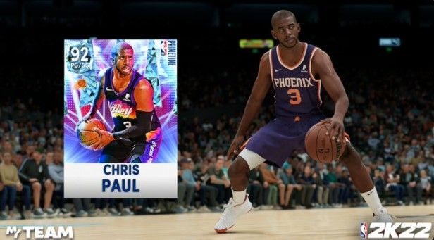 Chris Paul Diamond card in NBA 2K22