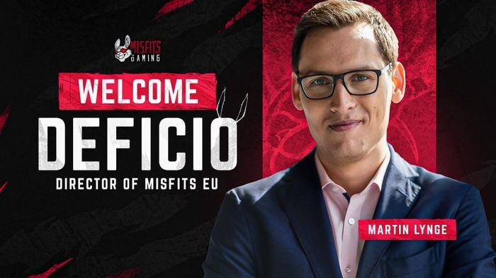 Deficio Joins Misfits Gaming EU