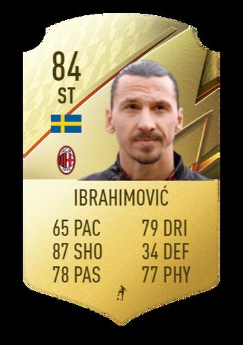 FIFA 22 Zlatan Ibrahimovic
