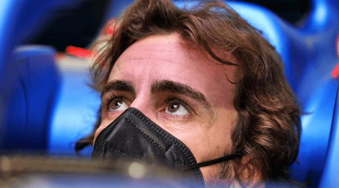 F1 2021 Fernando Alonso Alpine