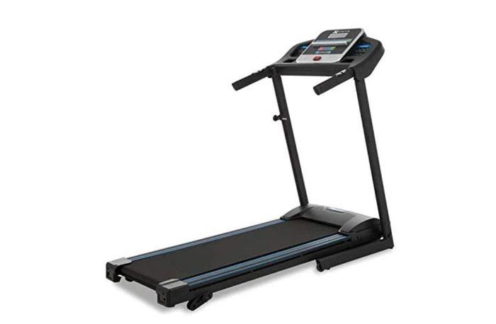 best treadmill product image of a black treadmill