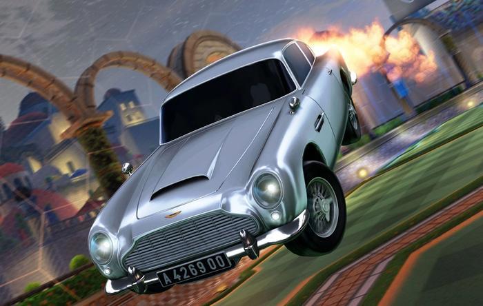 James Bond Car Rocket League Aston Martin DB5