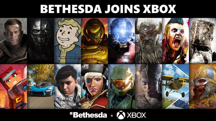 Bethesda Microsoft acquisition announcement image