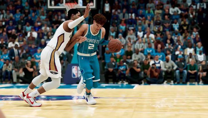 Lamelo Ball in NBA 2K22