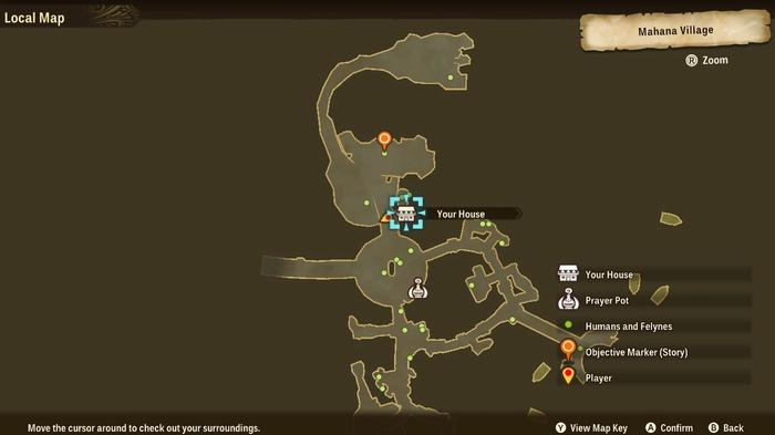 MOnster Hunter Stories 2 map