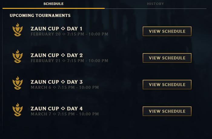 LoL Clash Sign Up Tickets Play Rewards Tournament Regions