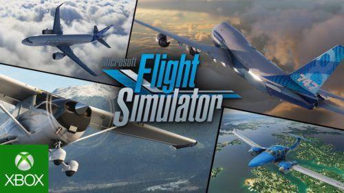 flgiht simulator xbox exclusive