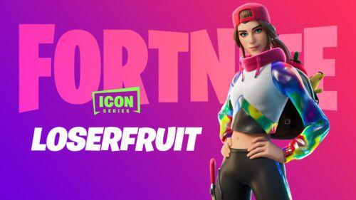fortnite loserfruit icon series skin bundle 1