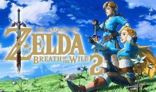 Zelda Breath of the Wild 2 cover