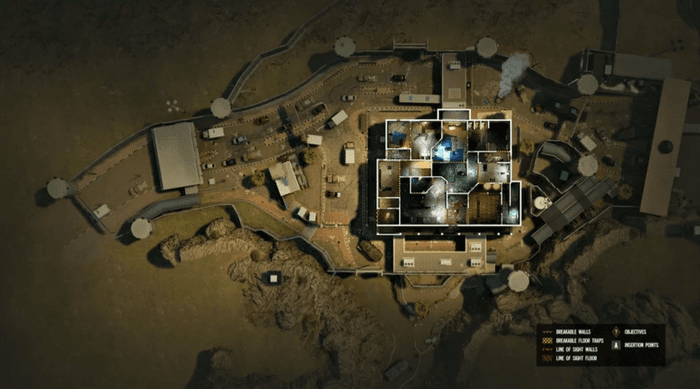 Rainbow Six Siege Y6S1 Border Map revamp