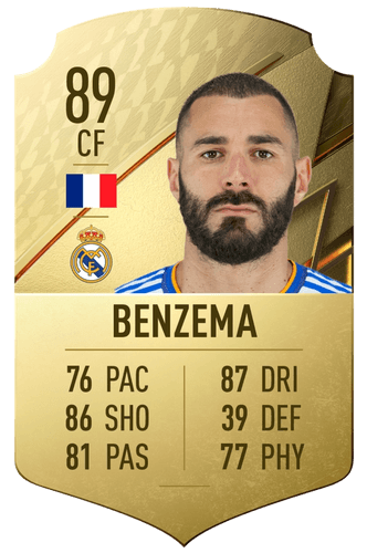benzema fifa 22