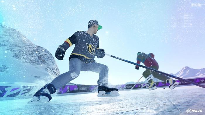 GROWTH: Build up your created character in World of Chel to dominate the ice in more personal games