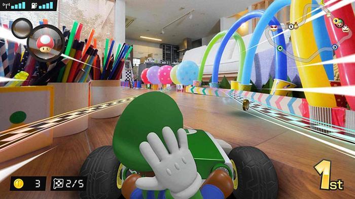 Mario Kart Live Home Circuit AR Promo