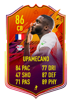 fifa 21 Upamecano headliner