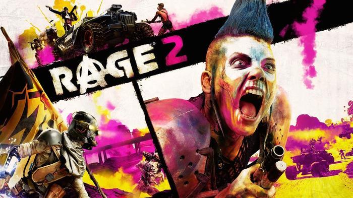 Rage 2 Key Art
