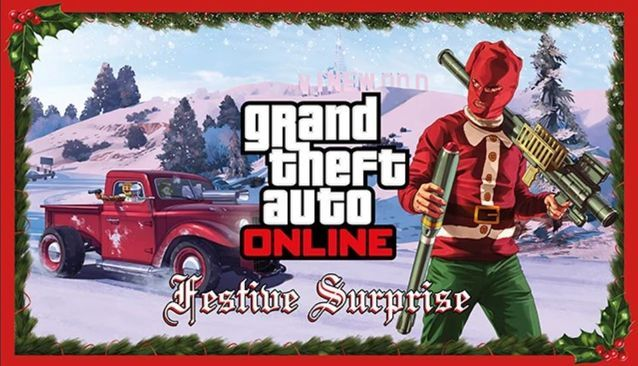 IT'S CHRISTMAS: Winter could be arriving in Los Santos