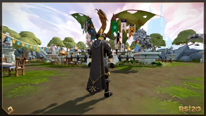 RuneScape Year of Celebration Key Art 2