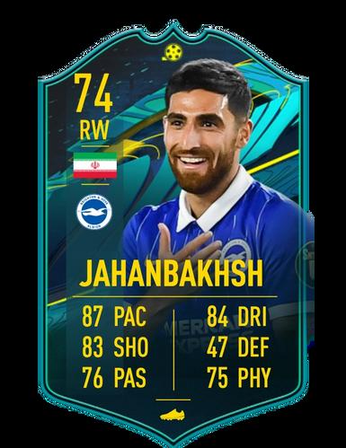 fifa 21 silver stars Alireza Jahanbakhsh objective