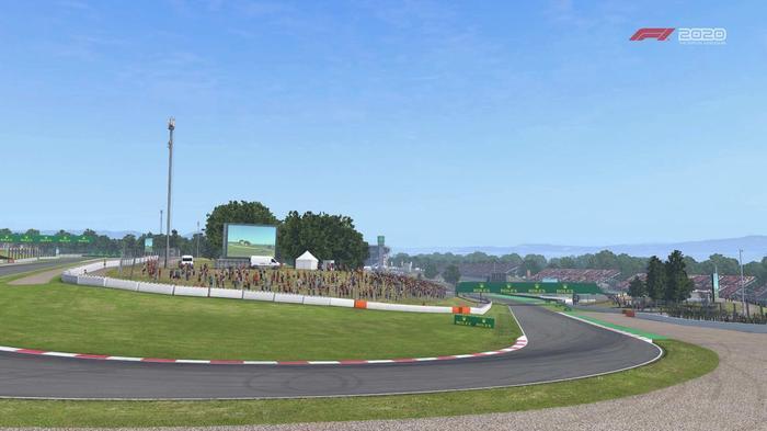 F1 2020 Spain turn 5 Y