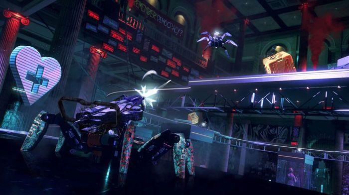 Watch Dogs Legion Multiplayer Spiderbot Arena