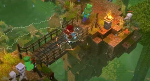 Minecraft Dungeons Jungle Awakens panda plateau 4