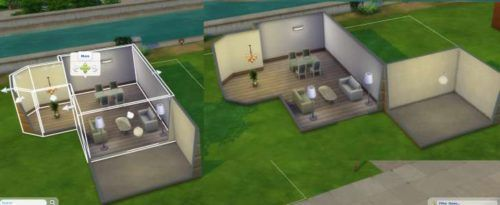 Sims 4 building a room