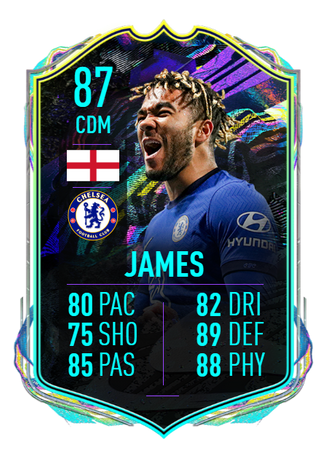 FIFA 21 Future Stars: Reece James new card best CDM on Ultimate Team -  Ratings, Position Change, Weekend League & more