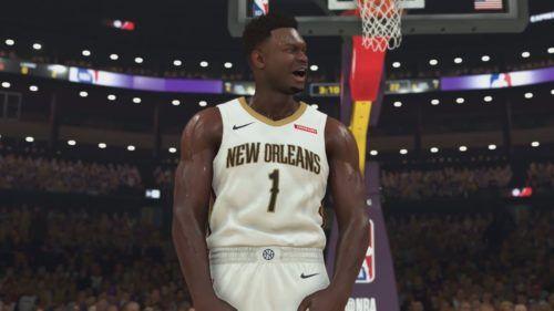Zion Williamson in NBA 2K20