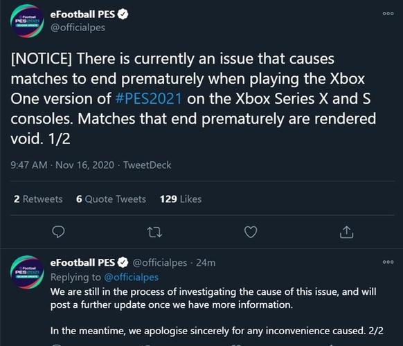 xbox-series-x-s-issues-pes-2021