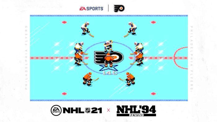 NHL 94 Rewind NHL 21 1
