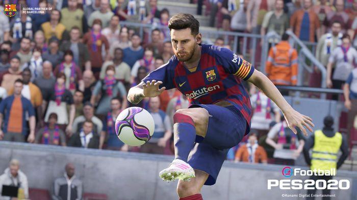 Leo Messi is PES 2020's Main Man