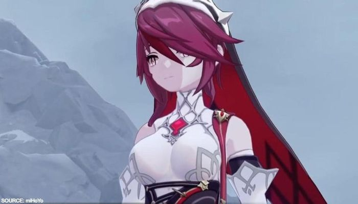 Genshin Impact Rosaria In Game