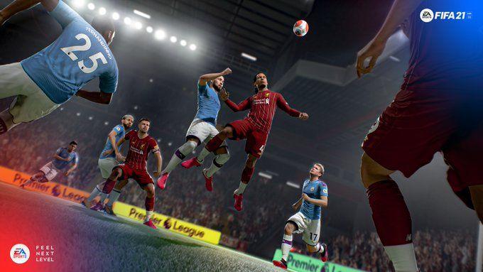 مان سيتي ليفربول FIFA 21