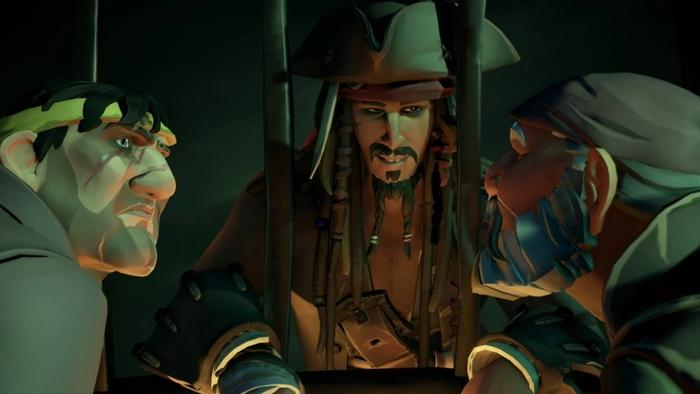 Sea of Thieves A Pirate's Life Jack Sparrow Voice Actor