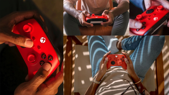 Xbox Series X & S Pulse Red Controller