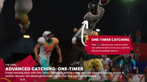 Madden 21 One Timer Catching
