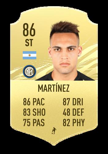 Martinez fifa 22