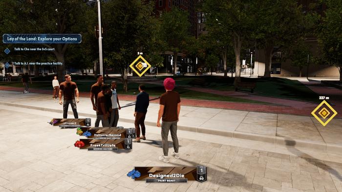 NBA 2K22 review next gen the city mycareer myplayer