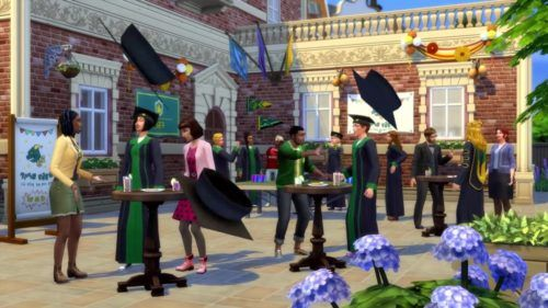 The Sims 4 - Discover University graduation