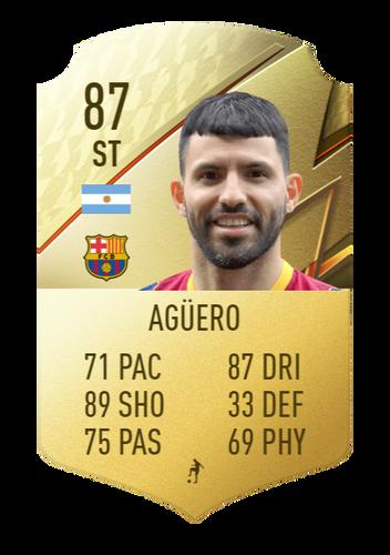FIFA 22 Sergio Aguero