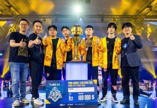 pubg mobile esports spring grand finals