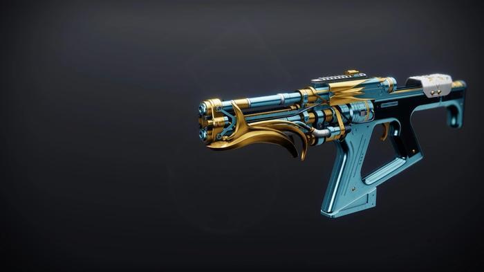 Destiny 2 the dawning 2020 Legendary Fusion Rifle Glacioclasm