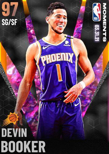 NBA 2K21 Heat Check Moments Devin Booker MyTEAM