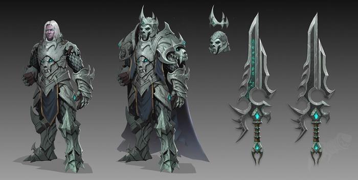 WoW Shadowlands Anduin Wrynn Death Knight Arthas