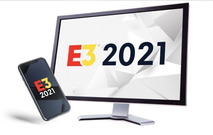 E3 2021 Phone Monitor Art