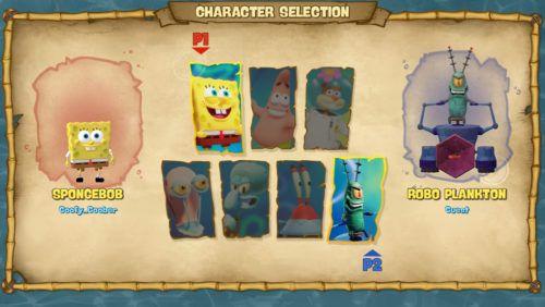 battle for bikini bottom rehydrated review multiplayer menu
